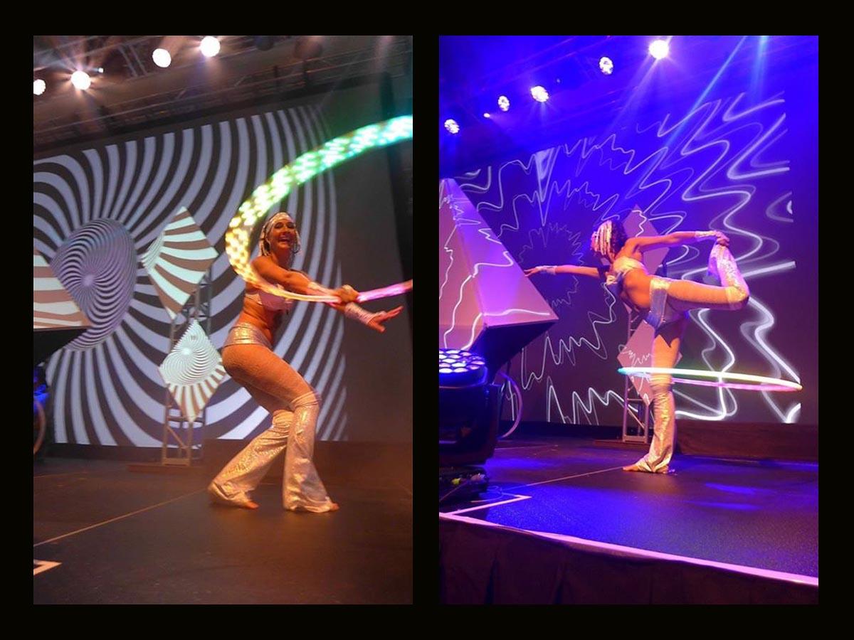 Maui Hula Hoop Performer